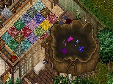 5th anniversary blue wizard hat jewelry and paaank doublet
