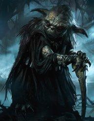 an evil carebear